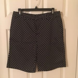 Riders by Lee polka dot shorts - size 10